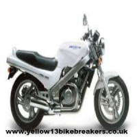 HONDA NTV650 REVERE BREAKERS. MOTORCYCLE WRECKERS ((WEB-STOCK))((A=SK))